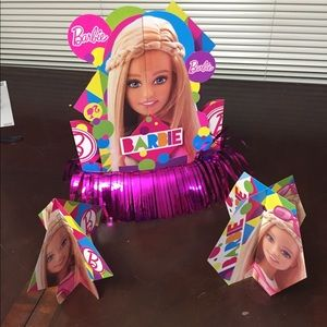 Barbie birthday party supplies. Used once!!